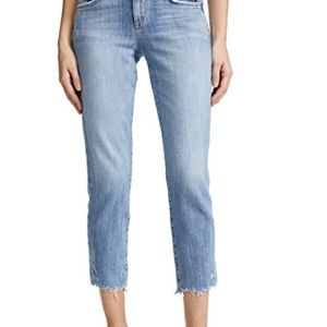Joe's Jeans: The Smith Midrise Straight Crop Jeans